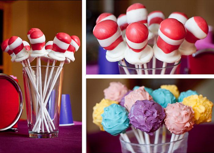 Best Kids&#39- Parties: Dr. Seuss | Cake pop