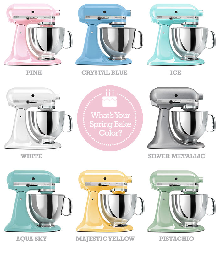 The gallery for Kitchenaid Stand Mixer Colors