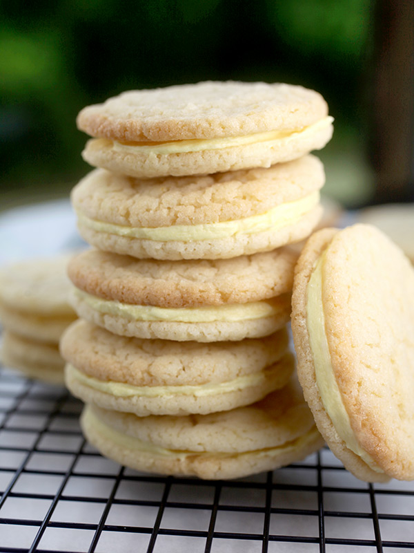 Chewy Lemon Sugar Cookies