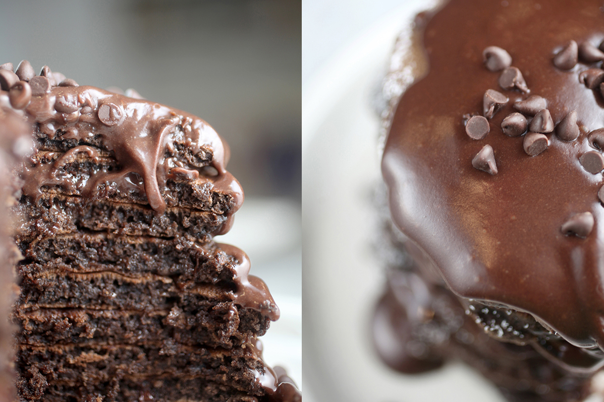 The Best Death by Chocolate Pancakes Recipe