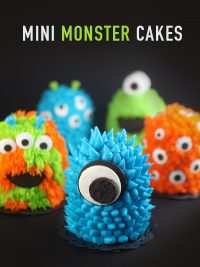 Mini Monster Cakes