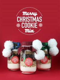 Merry Christmas Cookie Mix