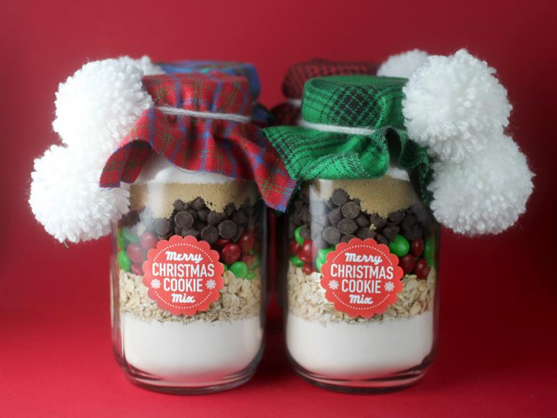 Merry Christmas Cookie Mix Bakerella Com