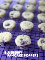 Blueberry Pancake Poppers
