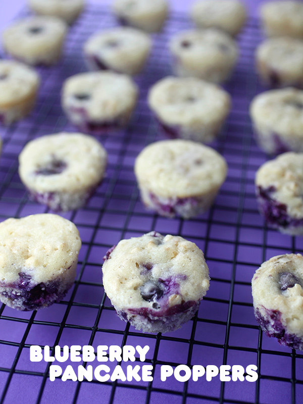 Blueberry pancake poppers bakerella ccuart Images