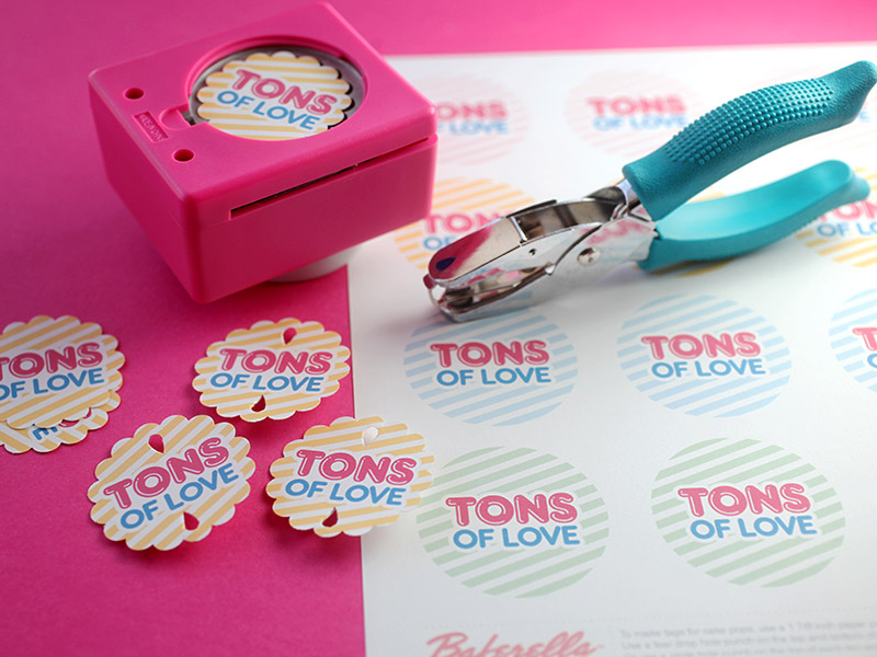 Tons of Love Treat Tags