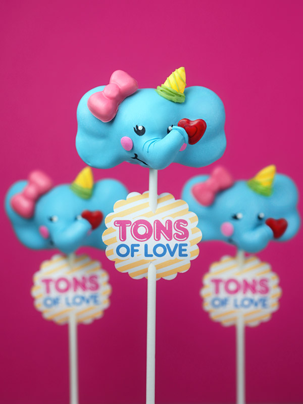 Tons of Love Cake Pops