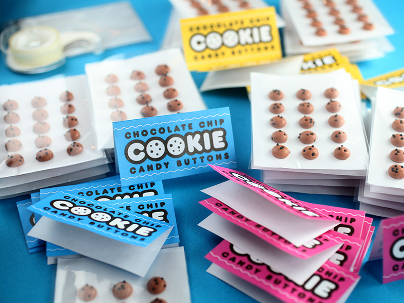 Candy Button Packaging