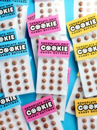 Chocolate Chip Cookie Candy Buttons