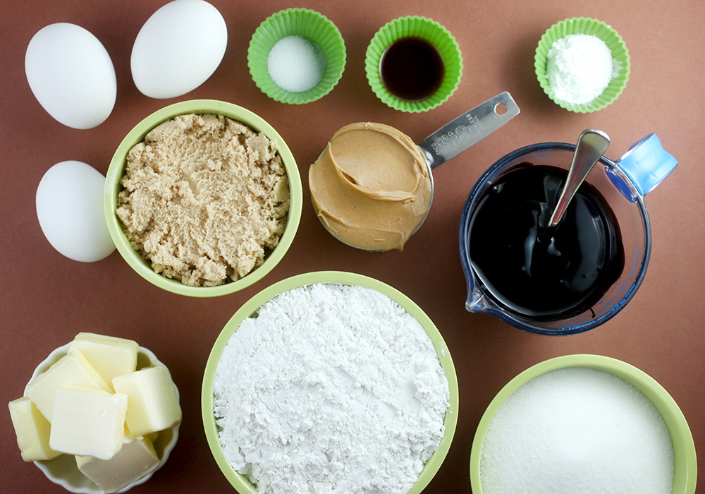 Skillet Cookie Ingredients