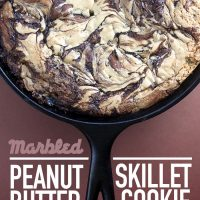 Marbled Skillet Cookie