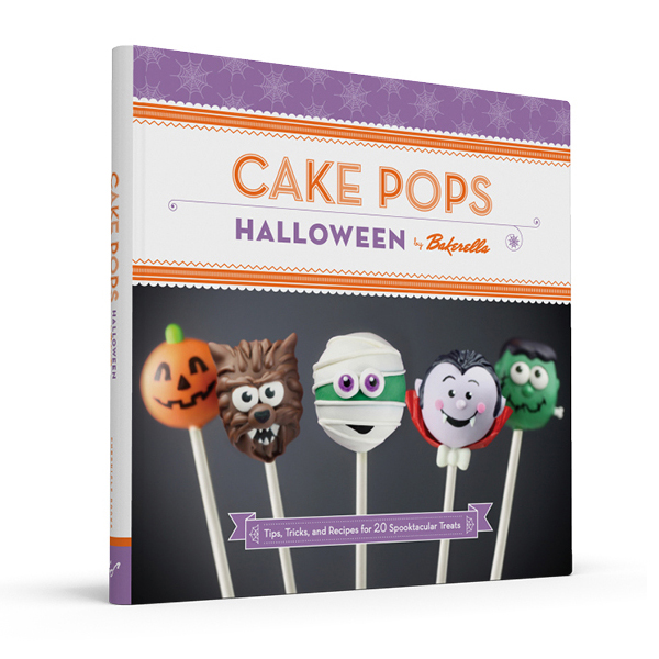 Cake Pops Halloween Book