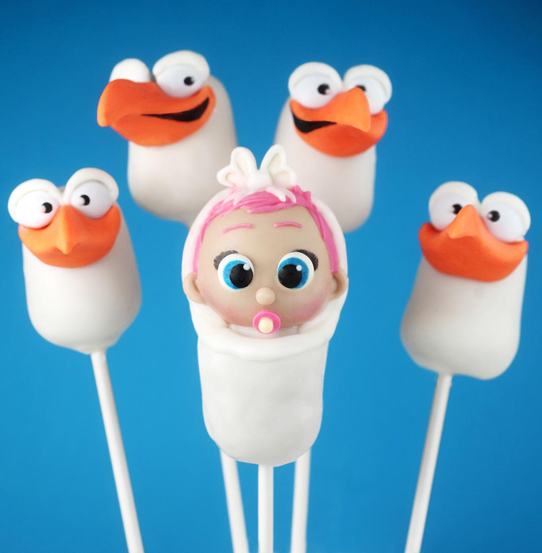 Storks - Baby Bundle Cake Pops