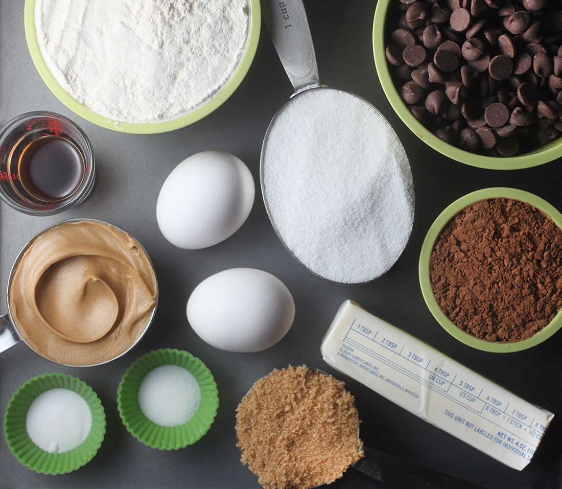 Chocolate Cookie Ingredients