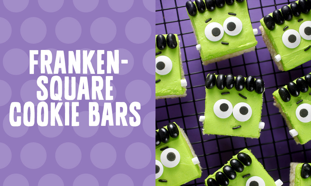Frankensquare Cookie Bars
