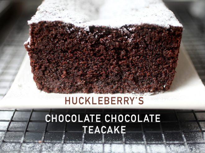 Chocolate Chocolate Teacake