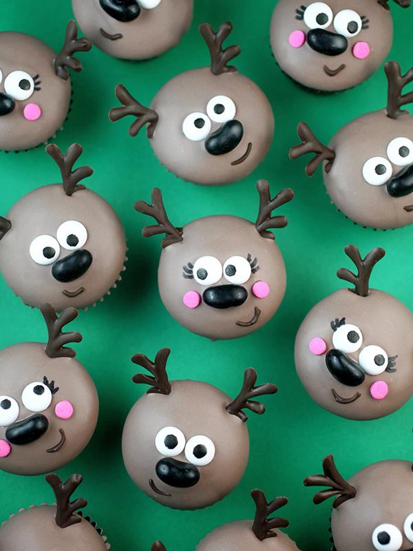 Oh Deer Mini Cupcakes Bakerella Com