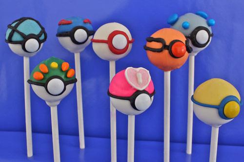 how to make pokemon cake pops