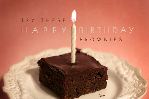 Brownies For My Best Friend S Birthday Bakerella Com