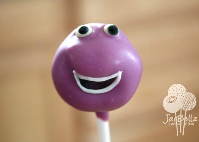 barney cake pops -#main