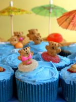 Bikini Beach Bear Cupcakes by Bakerella, on Flickr