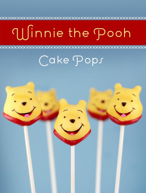 Winnie Pooh Cake Pops Bakerella