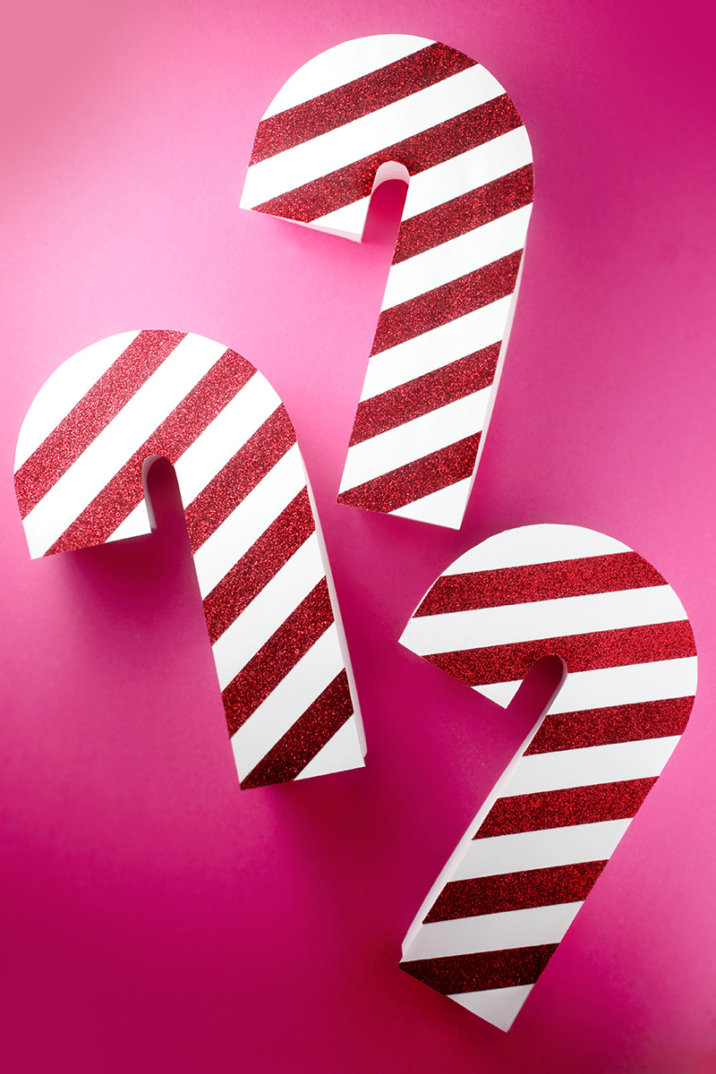 Candy Cane Boxes