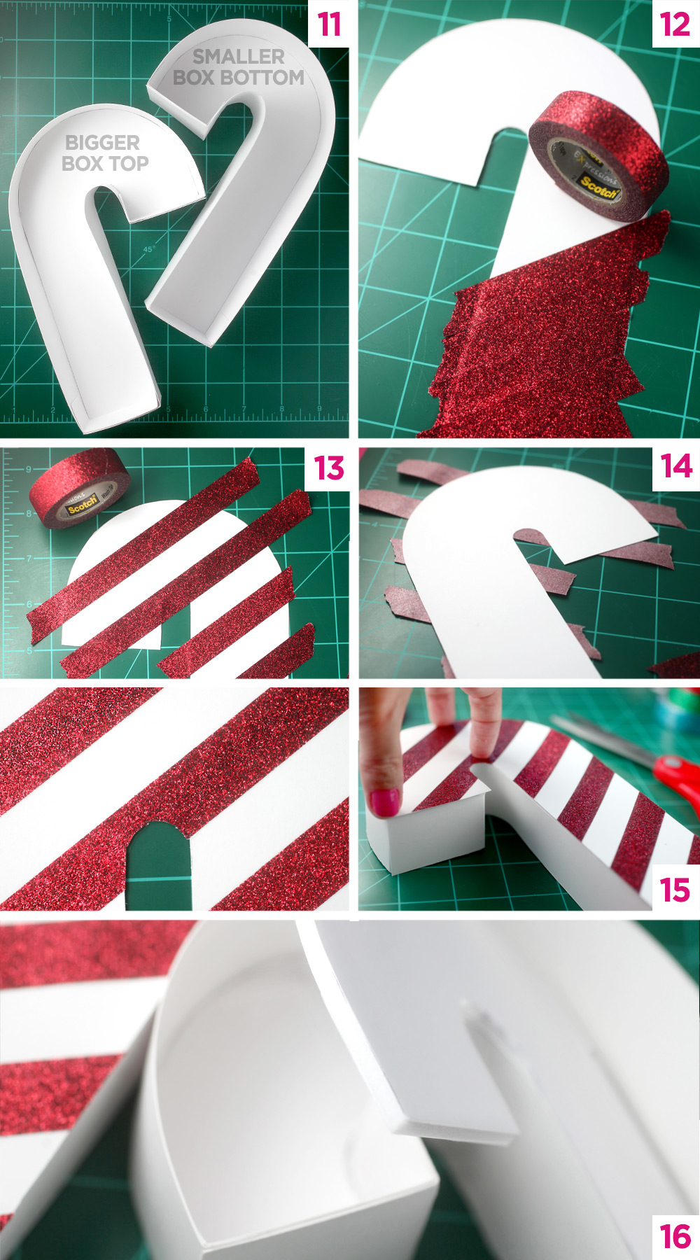 Candy Cane Steps 3