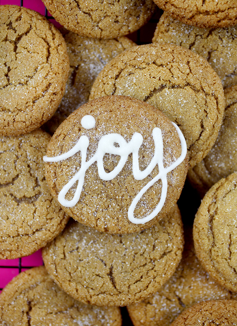 Oh Joy Molasses Cookies
