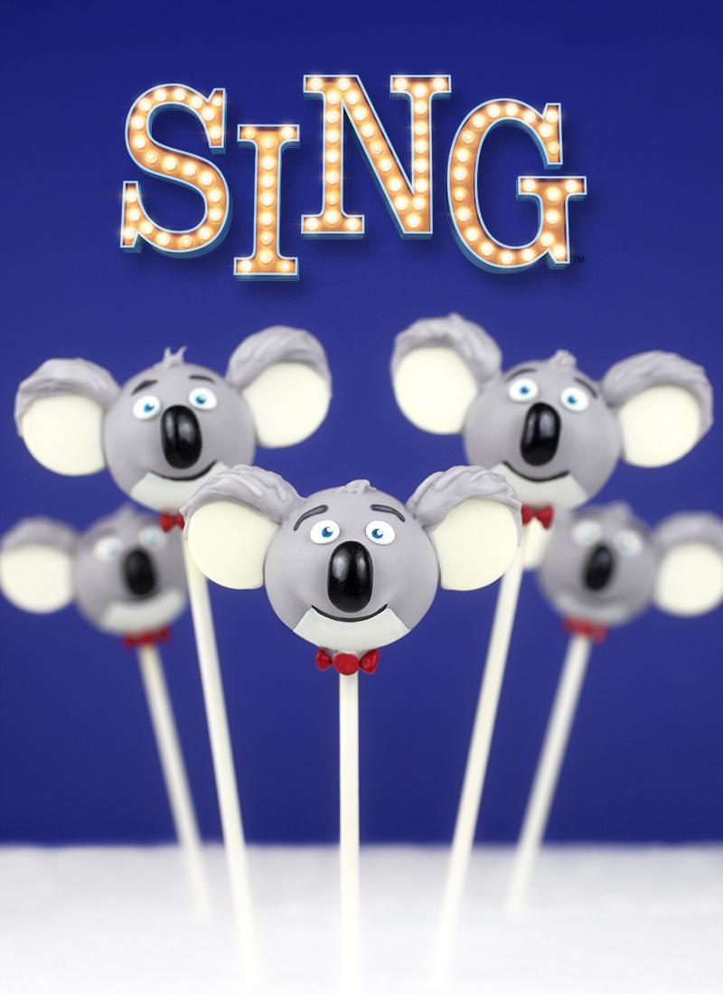 Sing Cake Pops