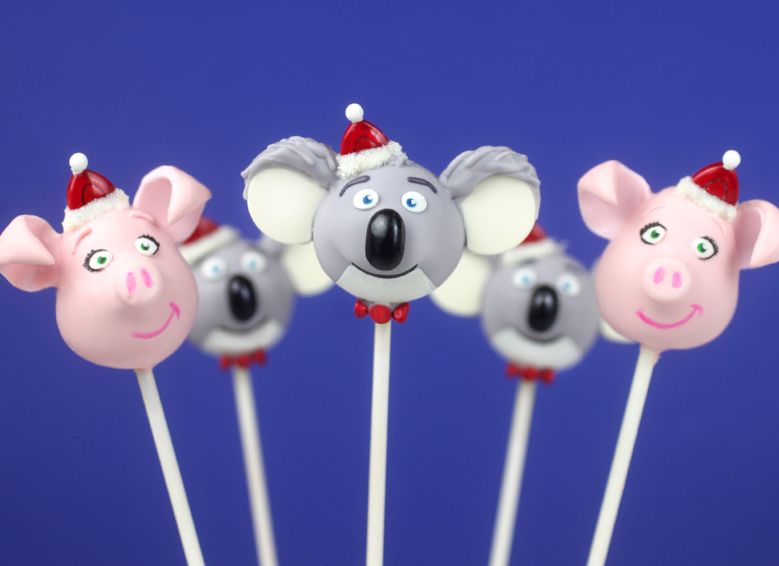 Sing Movie Cake Pops