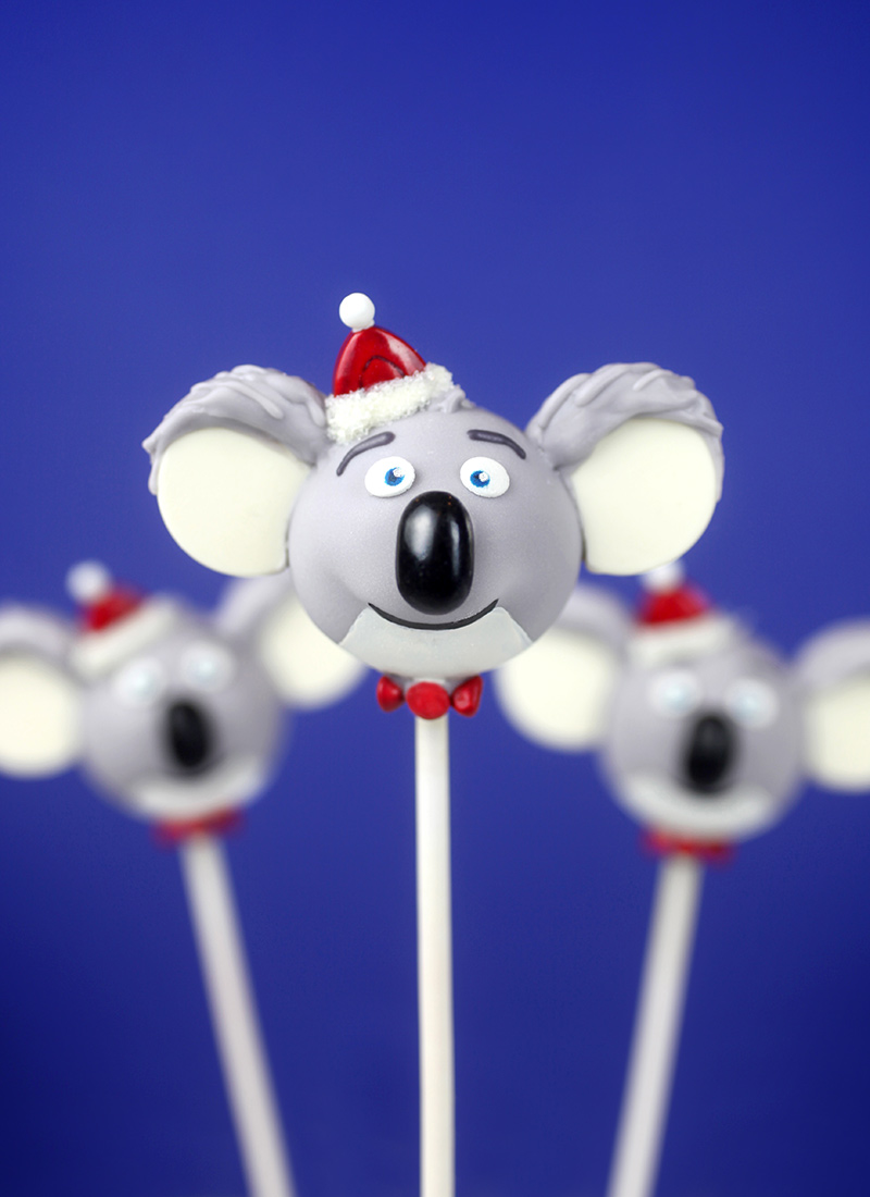 Buster Moon Cake Pops