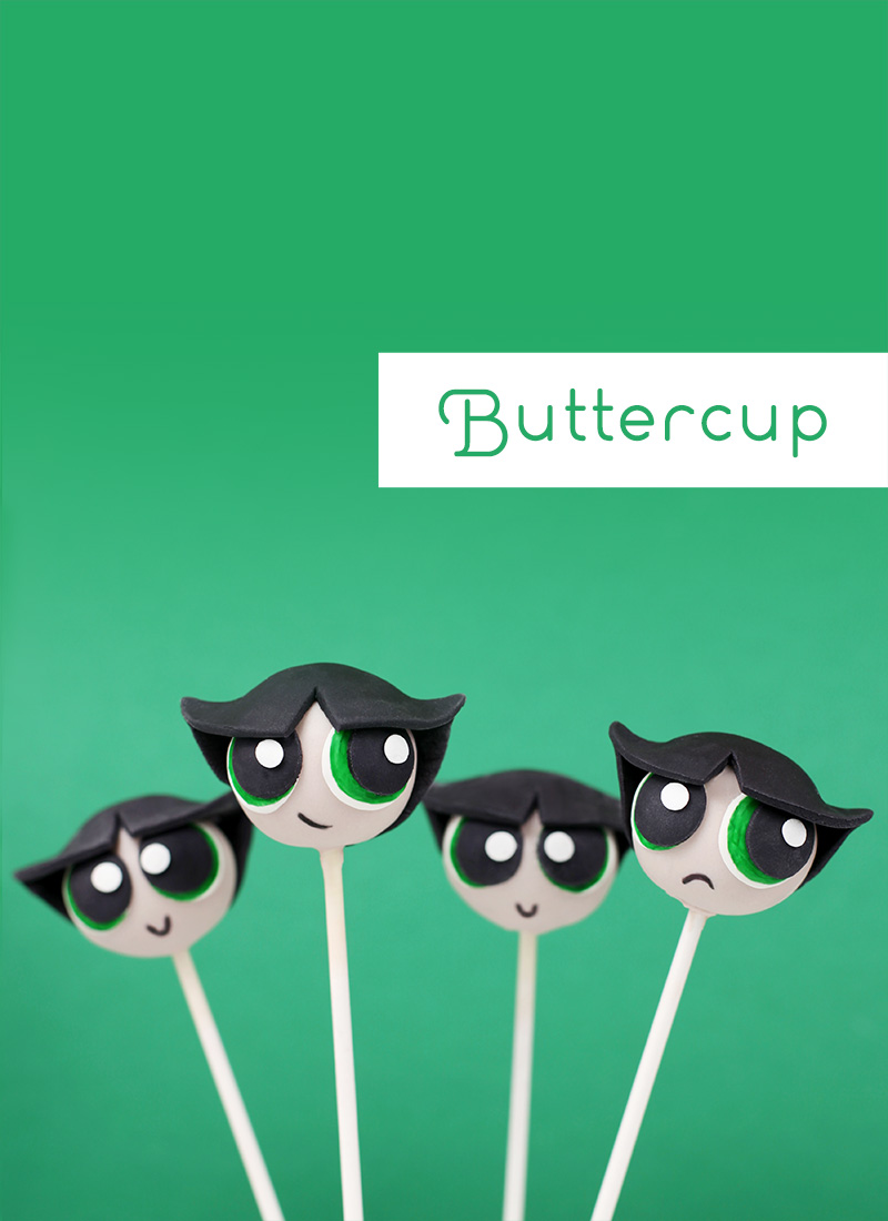 Buttercup Cake Pops