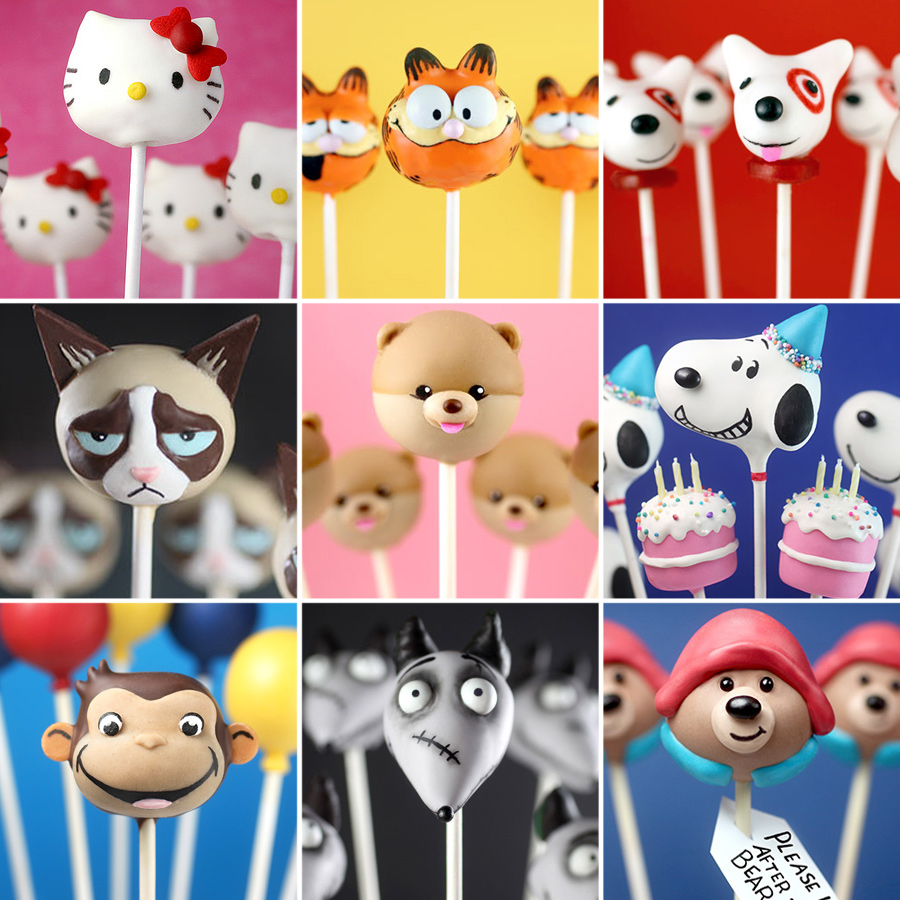 Character Cake Pops 1