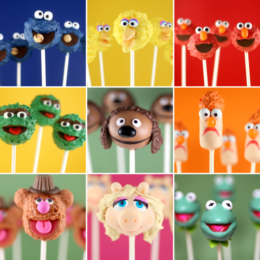 Character Cake Pops 2