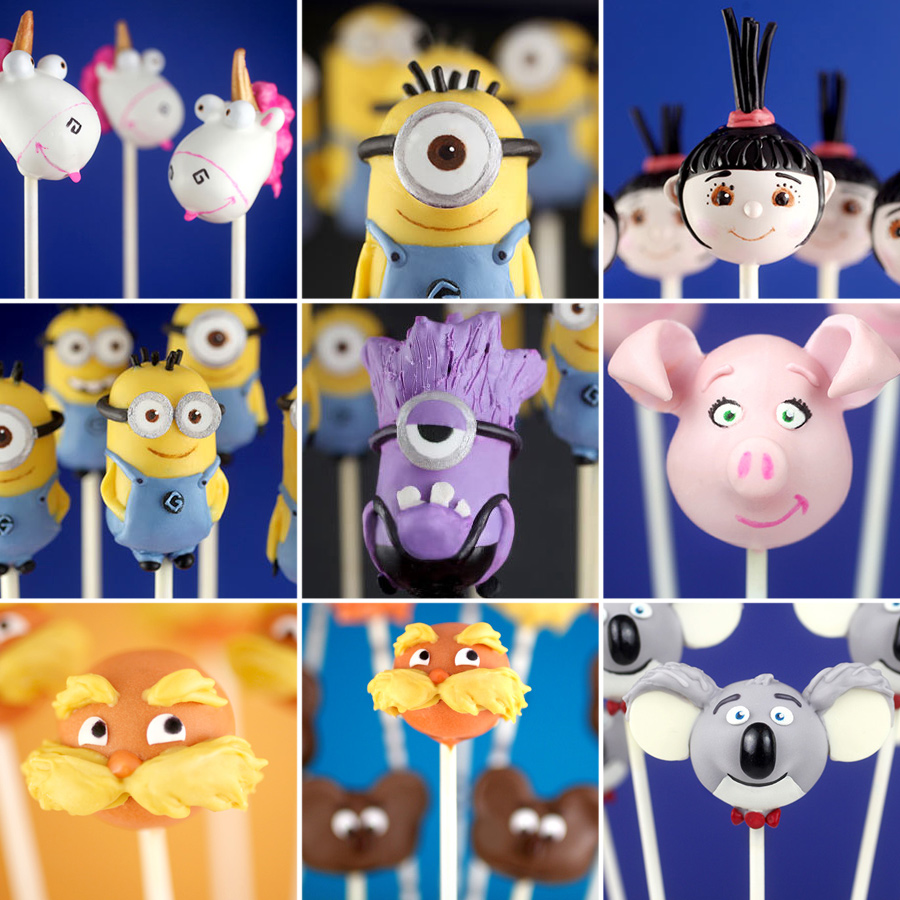 Character Cake Pops 3