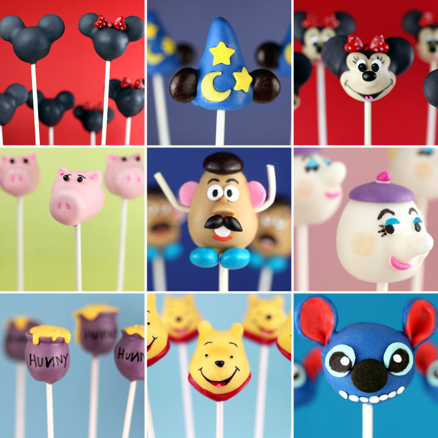 Character Cake Pops 4