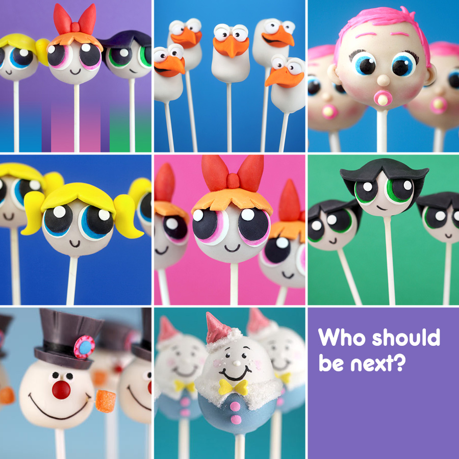 Character Cake Pops 5
