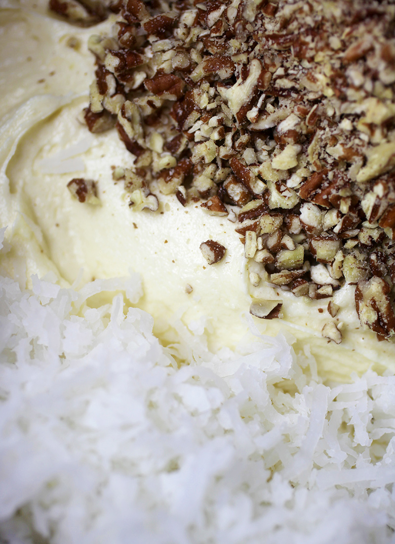 Coconut and Pecans
