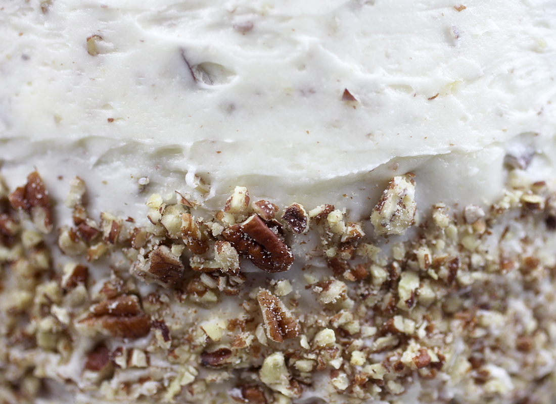 Cream Cheese Pecan Frosting