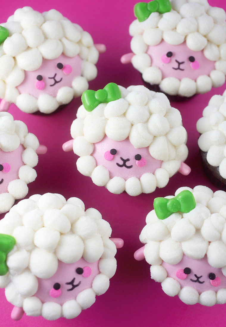 Sweet Sheep Cupcakes