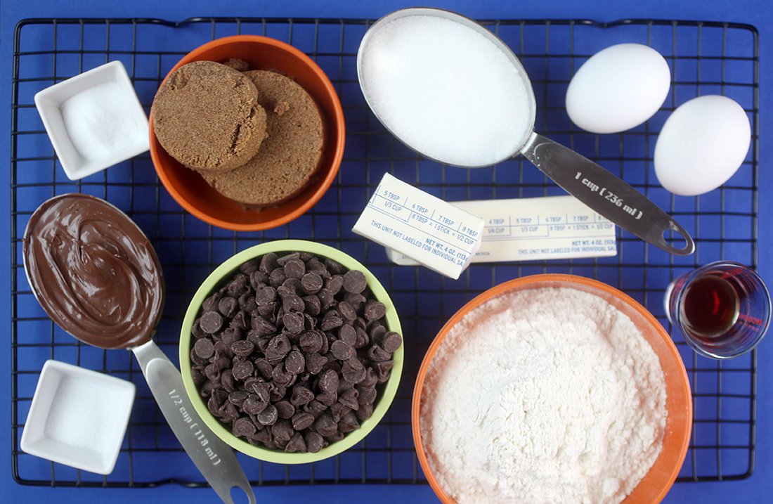 Nutella Cookie Ingredients