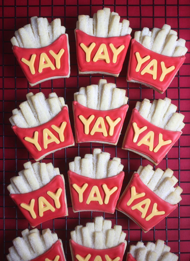 Fry-yay Cookies
