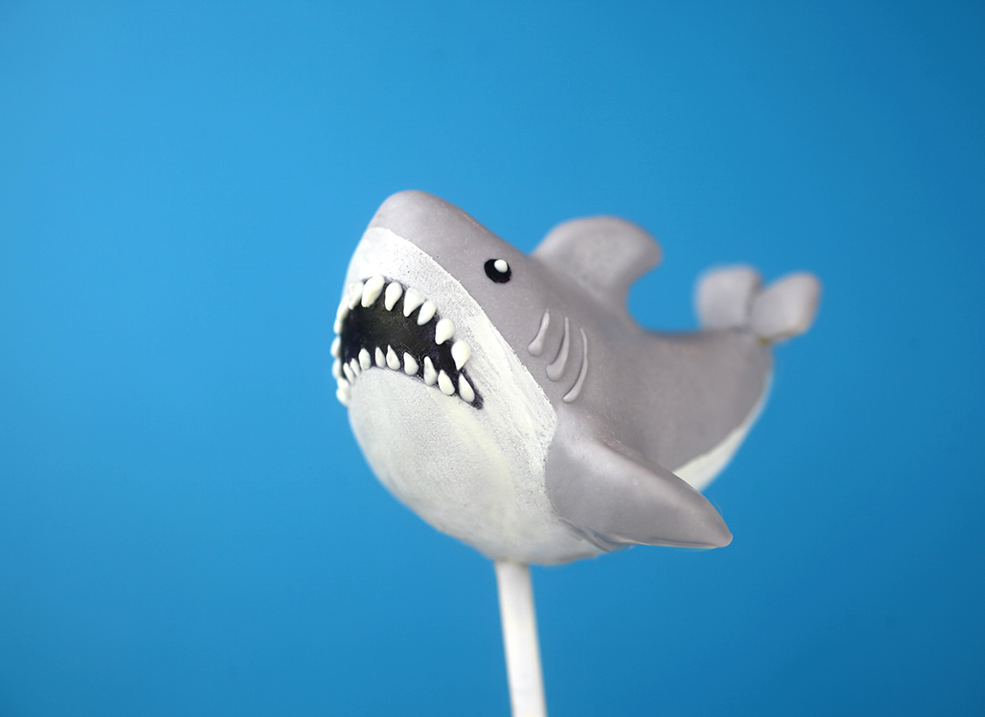 Swimming Shark Pop