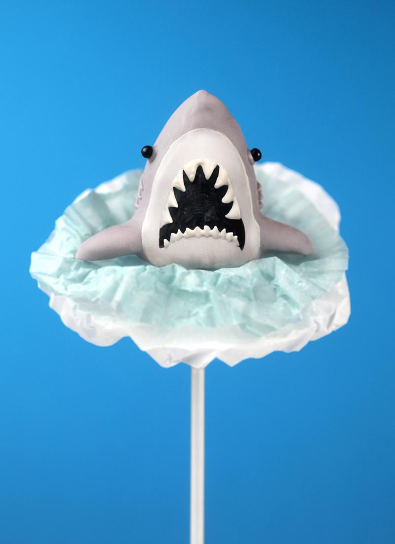 Splashing Shark