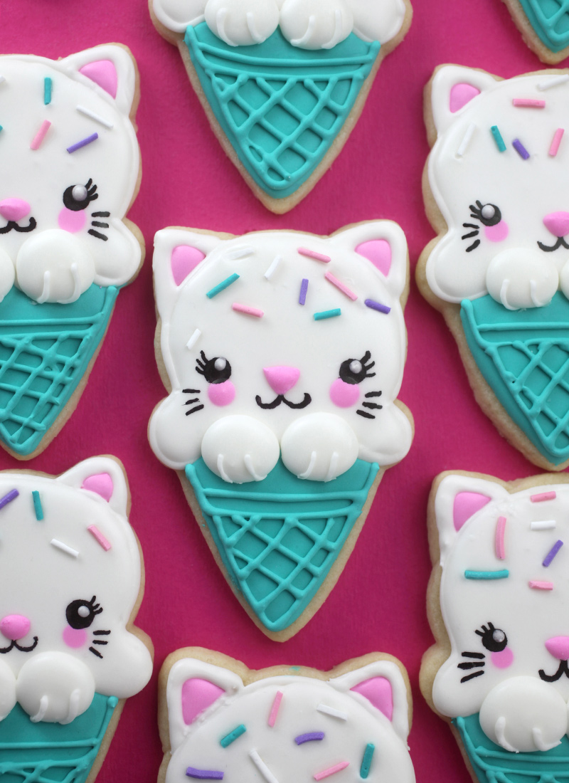 Ice Cream Cone Kitty