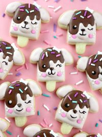 Pupsicle Cookies