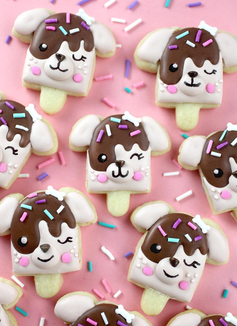 Pupsicle Cookies