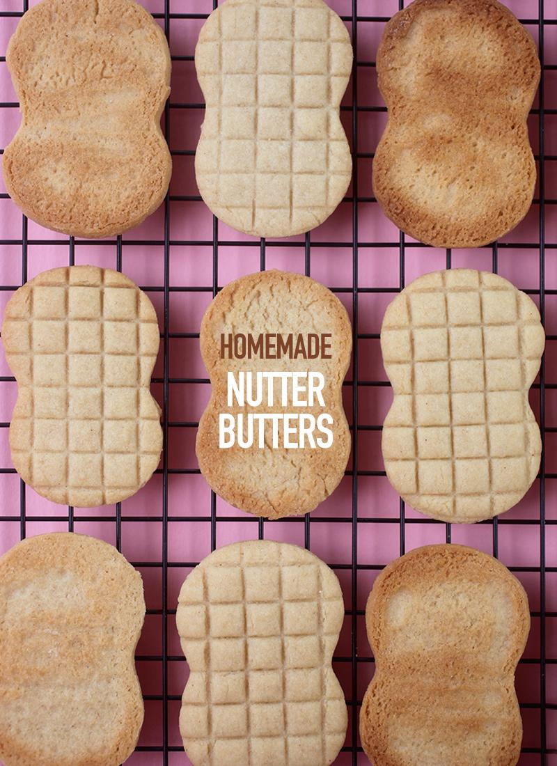Homemade Nutter Butter Cookies