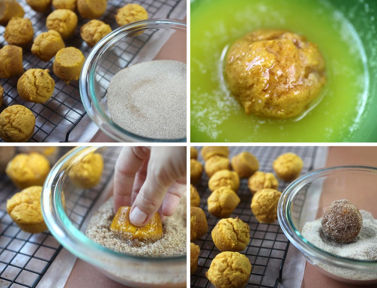 Dunking Mini Muffins